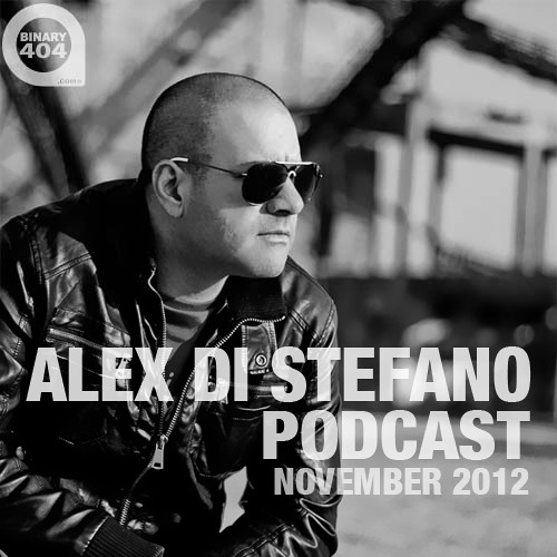 Alex Di Stefano Podcast November 2012 [FREE DOWNLOAD]