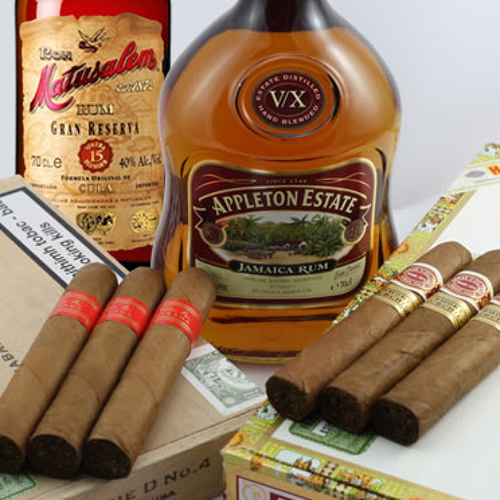 Tiny Cigars & Potent Rum