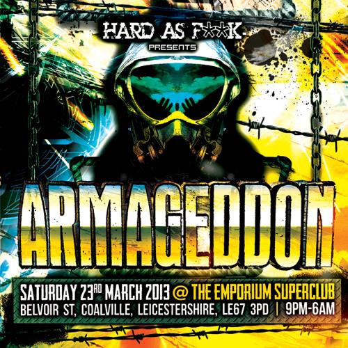 DYPRAX & mc Si The Sigh HARD AS F**K Presents ARMAGEDDON PROMO DOWNLOAD