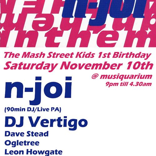 Dave Stead - Mash Street Kids 1st Birthday - 10th Nov 2012