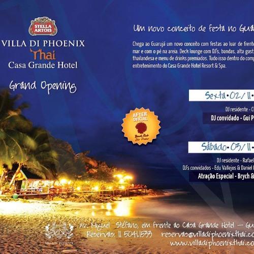 Vallejos & Dalzochio live @ Villa Di Phoenix Thai, Guarujá/SP - 03.11.2012