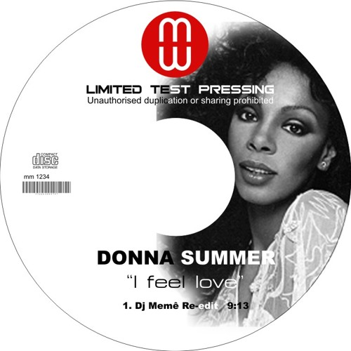 Donna summer- I feel Love( DJ MEMÊ RE-EDIT Bootleg ) RE-UP !!