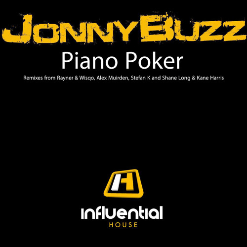 """Piano Poker"" Remix EP - Jonny Buzz  (Rayner & Wisqo Remix)"