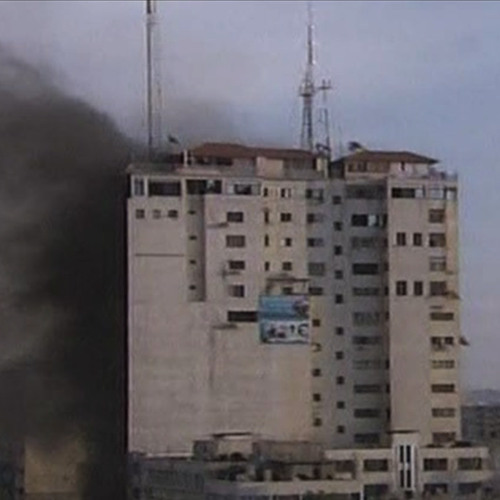 Live From Gaza Hospital: As Civilian Toll Mounts, Israel Again Bombs Palestinian Journalists