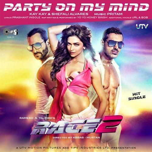 KK, Shefali Alvares, Yo Yo Honey Singh - Party On My Mind (Race 2)