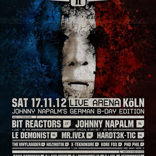 X-Teknokore Live @ French Disorder 2 (Johnny Napalm's German Bday Edition) 17-11-2012 - Cologne