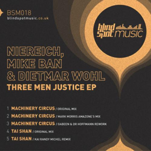 Niereich, Mike Ban & Dietmar Wohl - Machinery Circus (clip) ::: Blindspot Music