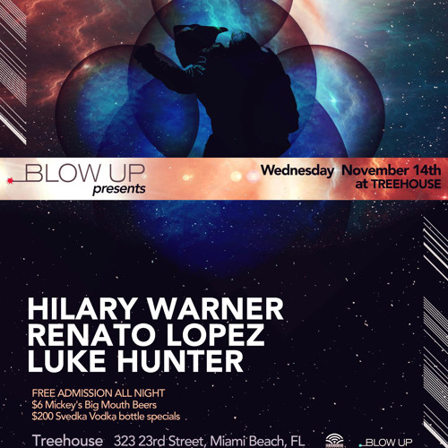 Luke Hunter @Treehouse Miami 11/14/2012