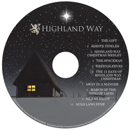 Samples of the upcoming Christmas CD.