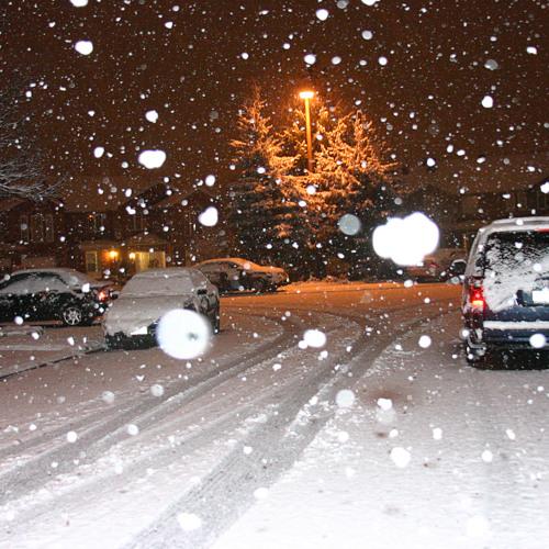 First snow - Milana