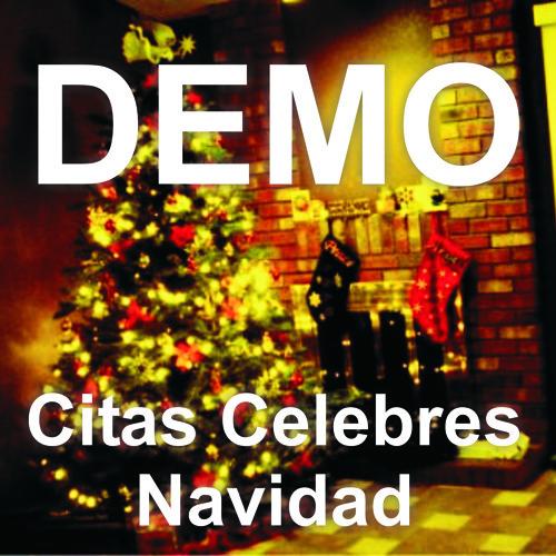 Demo Citas Celebres Navideñas