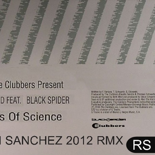 Beth Wild featuring Black Spider - Walls of Science (Rian Sanchez 2012 rmx)