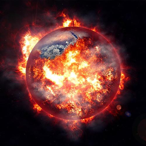 HULK - World On Fire