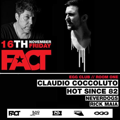 Rick Maia Live at FACT London - November 2012