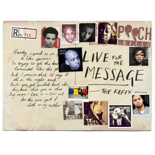 Speech Debelle - 'Live For The Message' (Refix)