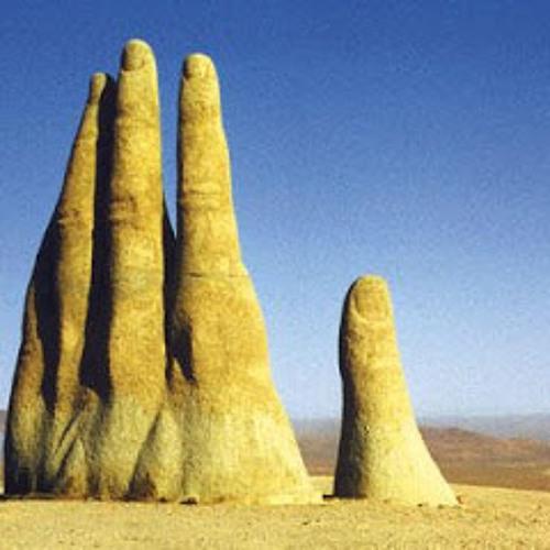 Canapés en el desierto