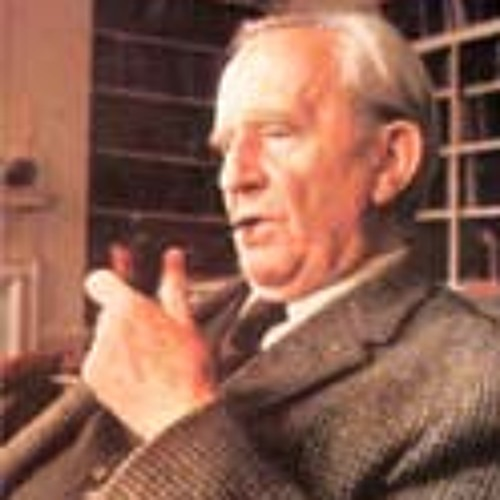 """J.R.R. Tolkien singing an extract from The Hobbit: """"That's what Bilbo Baggins hates."""""""
