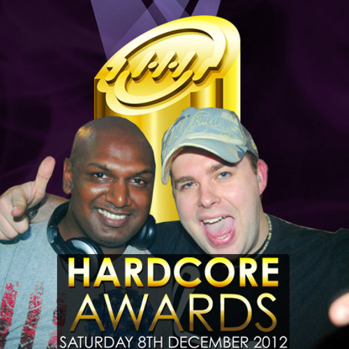 Fracus and Darwin with MC Friction from Hardcore Awards 2011