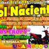 30 AÑOS DE SOL NACIENTE + LOS TROPY Y UNA MOTO DE REGALO-SABADO 24