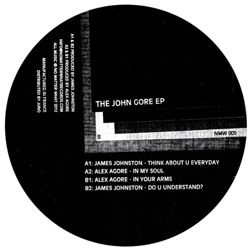 James Johnston/Alex Agore - The John Gore EP (NMW 005) - Preview Of JJ Tracks