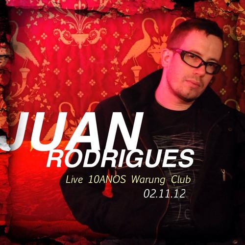 Juan Rodrigues @ 10 ANOS Warung Beach Club 02.11.2012
