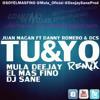 Juan Magan Feat. Dcs & Danny Romero - Tu y Yo (Remix Sane, Mula Deejay & El Mas Fino)