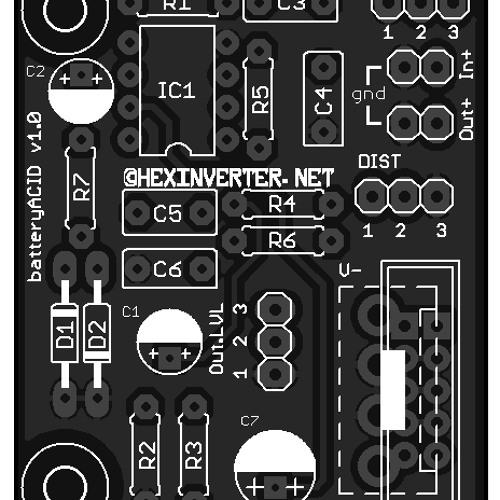 hexinverter.net batteryACID distortion module demo