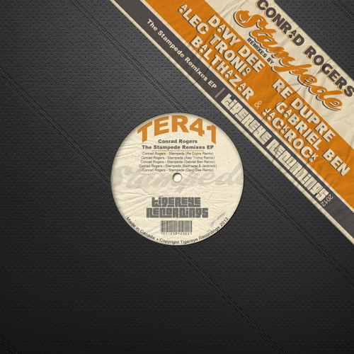 Conrad Rogers - Stampede (Davy Dee Remix) || TIGEREYE RECORDINGS™ || Low Quality Sample