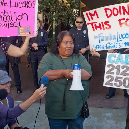 Häuserkampf in L.A. - Fort Lucero und die Deutsche Bank