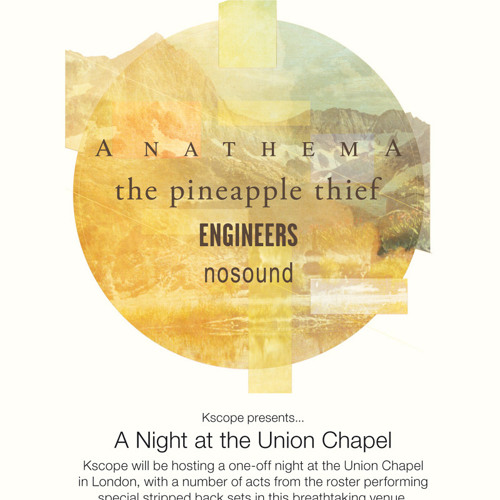 The Pineapple Thief - One More Step Away (from the Union Chapel)