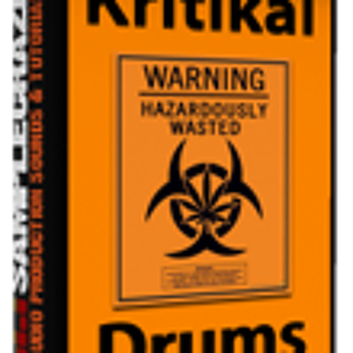 Kritikal Drums [Sample Pack] - 450 Deep, Crisp Drums by Sample Craze TH481 scrape grime