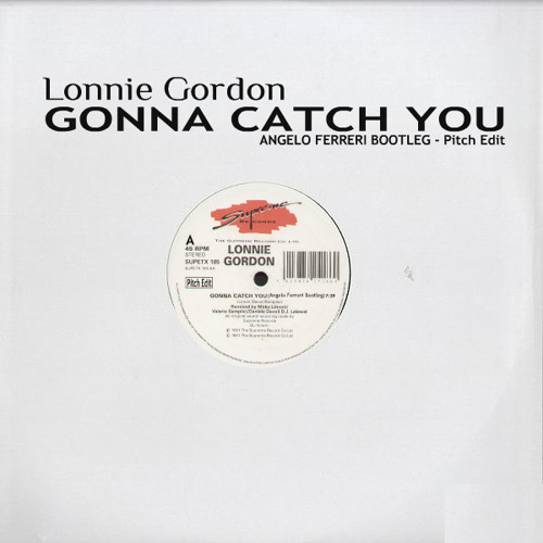 """Lonnie Gordon - """"Gonna Catch You"""" (Angelo Ferreri Bootleg) // Pitch Edit"""