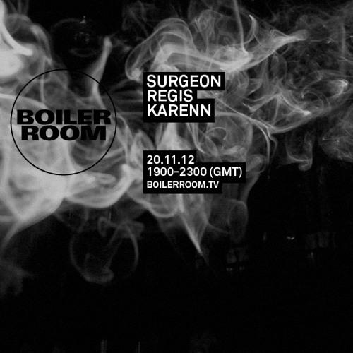 Karenn live in the Boiler Room