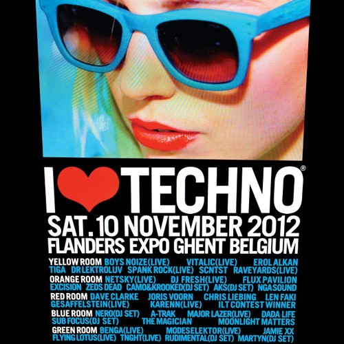 I Love Techno 2012 (Exclusive)
