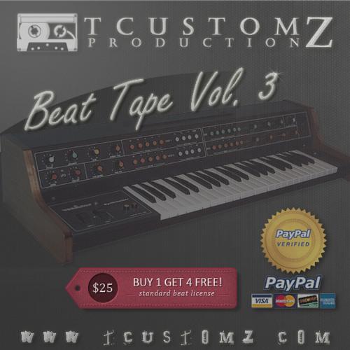 TCustomz Beat Tape Vol. III (Buy 1 Get 4 FREE!)