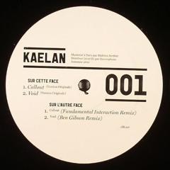 """CLFT001 - Kaelan - Carillon Ep 12"""" (Vinyl Only)"""