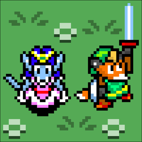 Malstorm & Laffe the Fox - Death Mountain (Zelda A Link to the Past Cover)