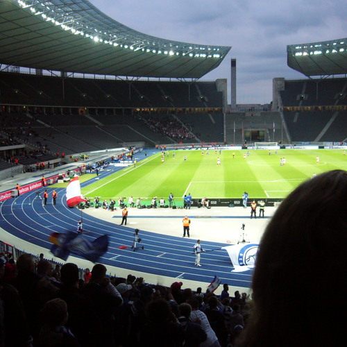 Sounds: Hertha vs St. Pauli at Olympic stadium