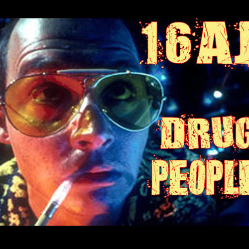 16AJ - Drug People (Out now on Labelless Records)