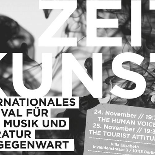 Zeitkunst Festival: Interview auf FluxFM