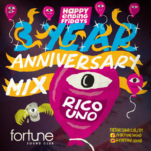 Happy Ending 3 Year Anniversary Mix by Rico Uno