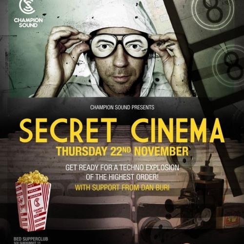 Dan Buri - Warm Up Set For Secret Cinema Live @ Champion Sound Bed Supper Club Bangkok