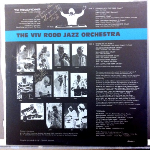 The Viv Rodd Jazz Orchestra - Changin' With The Times (Daytoner Edit) on BBC6 Music