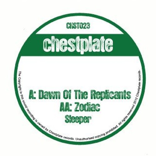 Sleeper - Dawn Of The Replicants (CHST023)
