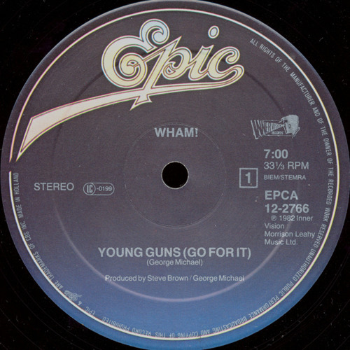 Wham!  - Young Guns (Angel D Go For It! edit) FREE DL