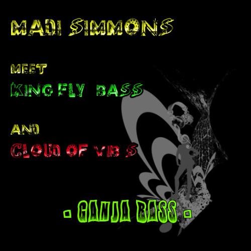Madi Simmons with King Fly ( bass ) & Cloud Of Vib's - Ganja bass -