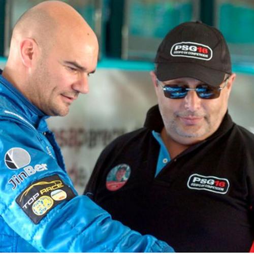 Promoción de la carrera de Top Race- Colaboración de Ariel Pacho
