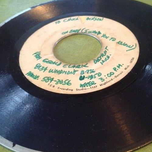 Gerald Clark ~ unreleased T.C.B. acetate from Aaron Anderson
