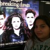 My sister singing A thousand years from twilight saga breaking dawn pt 2