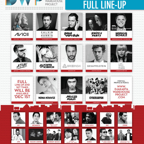 Djakarta Warehouse Project 2012 - Collections
